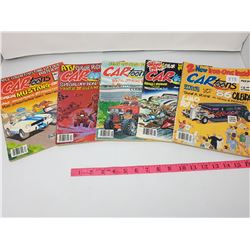 LOT OF FIVE VINTAGE CARTOONS (1986)