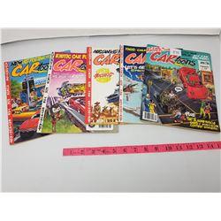 LOT OF FIVE VINTAGE CARTOONS (1988-89)