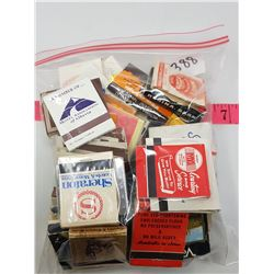 LOT OF 50 ADVERTISING MATCHES