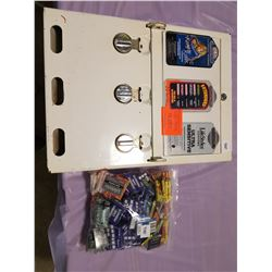 CONDOM MACHINE (WORKING WITH FULL BAG OF PRODUCT)