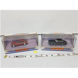 2 Dinky Matchbox 1:43 scale cars