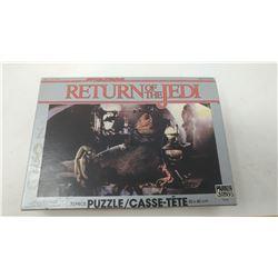 1983 STAR WARS RETURN OF THE JEDI 70 PIECE PUZZLE - IN ORIGINAL BOX