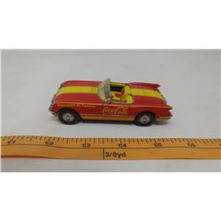 1997 MATCHBOX DINKY 1953 CHEVY CORVETTE CONVERTIBLE COCA-COLA METAL CAR