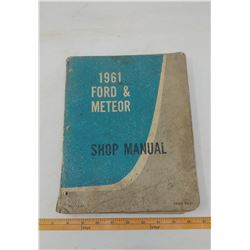 1961 FORD & METEOR SHOP MANUAL