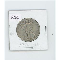1944- US HALF DOLLAR