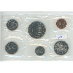 1986 CANADIAN UNCIRCULATED COIN SET