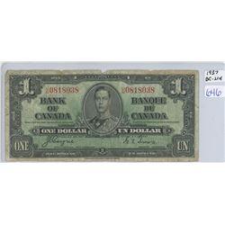 1937 ONE DOLLAR