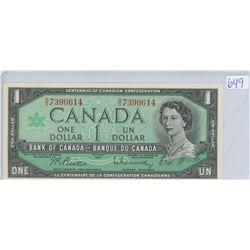 1967 ONE DOLLAR