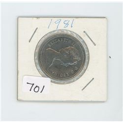 1981 CANADIAN 50 CENT