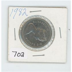 1982 CANADIAN 50 CENT