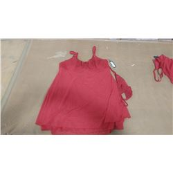 RED BABY DOLL SET (XXL)