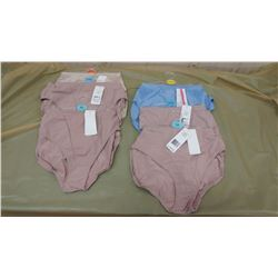 SIX PAIRS OF UNDERWEAR, ASSORTED SIZES