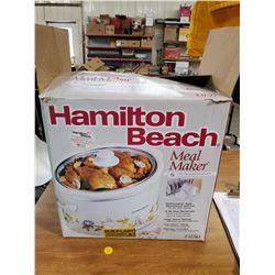 HAMILTON BACH SLOW COOKER (BRAND NEW)