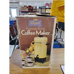 REGAL COFFEE MAKER (USED)