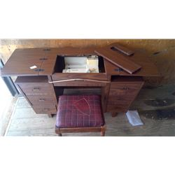 SEWING TABLE WITH SEAT
