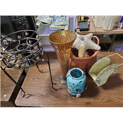 GARDEN ORNAMENTS AND PLANT STANDS