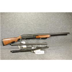 Remington 870, 3 barrels