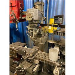 2 HP Bridgeport Vertical Milling Machine