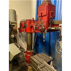 4' Cincinnati Bickford Radial Arm Drill