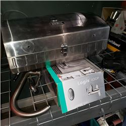 3 FAUCETS AND BACKYARD GRILL STAINLESS BBQ