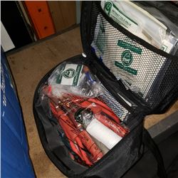 NISSAN JUMPER CABLES AND FIRST AID KIT
