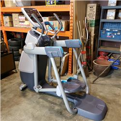 PRECOR AMT 885 W/ OPEN STRIDE ADAPTIVE MOTION TRAINER, RECENTLY SERVICED, GURNATEED WORKING