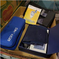BOX OF BLOOD PRESSURE MONITORS