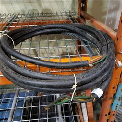 25FT OF HEAVY DUTY WELDING CABLE