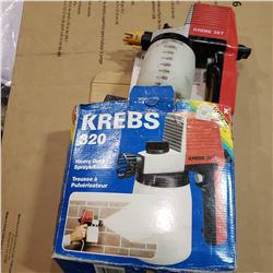 KREBS 320 ELECTRIC PAINT SPRAYER - TESTED AND WORKING