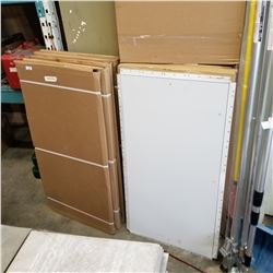 "10 NEW 22"" BY 42"" METAL ACCESS DOORS"