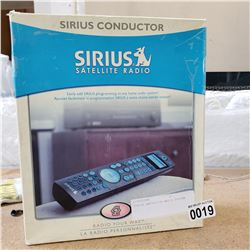 SIRIUS CONDUCTER SATELLITE RADIO REMOTE