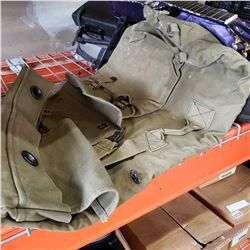MILITARY ISSUE HEAVY DUTY DUFFLE BAG