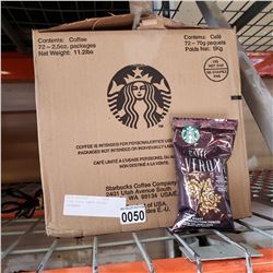 BOX OF STARBUCKS PIKE PLACE ROAST COFFEE
