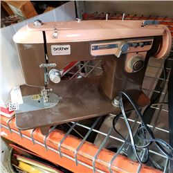 RETRO BROTHER CHARGER 651 SEWING MACHINE
