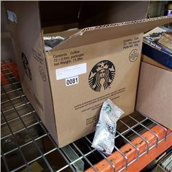BOX OF STARBUCKS PIKE PLACE COFFEE