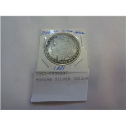 MORGAN SILVER DOLLAR 1881