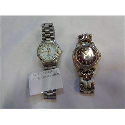 2 TAG HEUER WATCHES