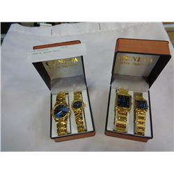 2 GENEVA WATCH SETS
