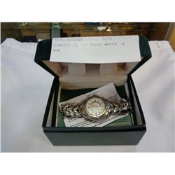 KINETIC SQ 100 SEIKO WATCH IN BOX