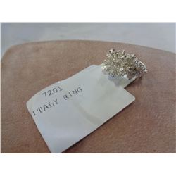 ITALIAN FROAT OF ITALY RING SIZE 8