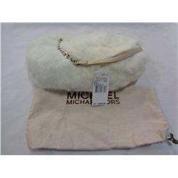NEW MICHAEL KORS RABBIT FUR PURSE - UNAUTHENTICATED