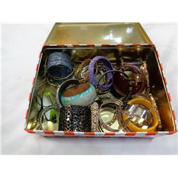 TIN OF ESTATE BANGLES