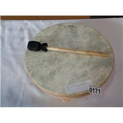 REMO BUFFALO DRUM AND DRUM STICK