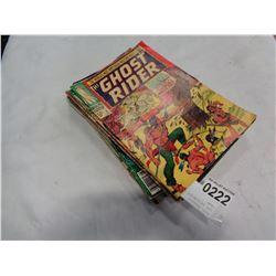 LOT OF VINTAGE COMICS 12-30 CENT