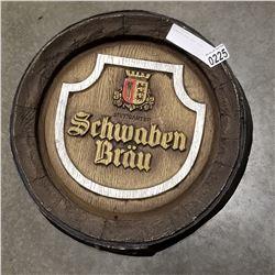 SCHWABEN BRAU BEER SIGN