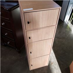 MAPLE 4 DOOR CABINET