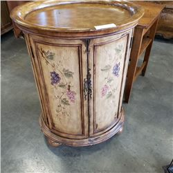 OVAL WINE CABINET