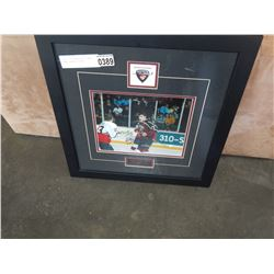 MILAN LUCIC VANCOUVER GIANTS SIGNED HOCKEY PICTURE