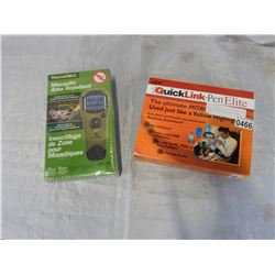 NEW THERMACELL MOSQUITO AREA REPELLENT AND QUICK LINK NOTE TAKER