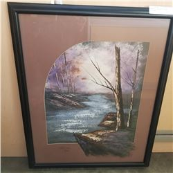 ROBERT V LIMITED EDITION PAINTING